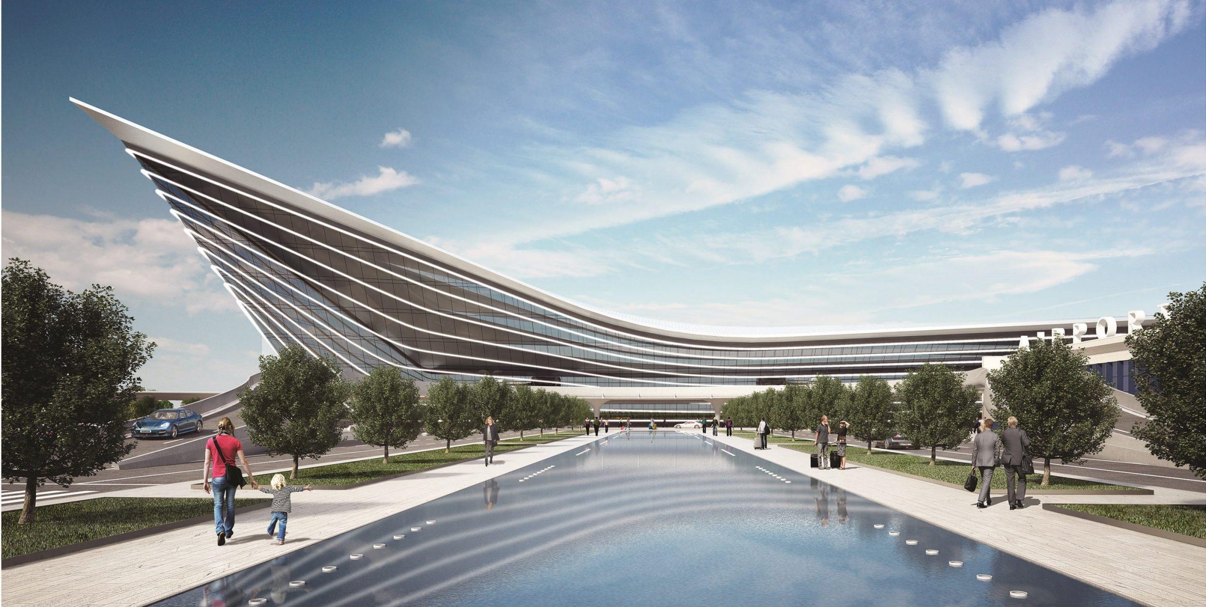 Новый пассажирский терминал аэропорта «Челябинск»
